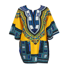 African Dashiki With Pockets