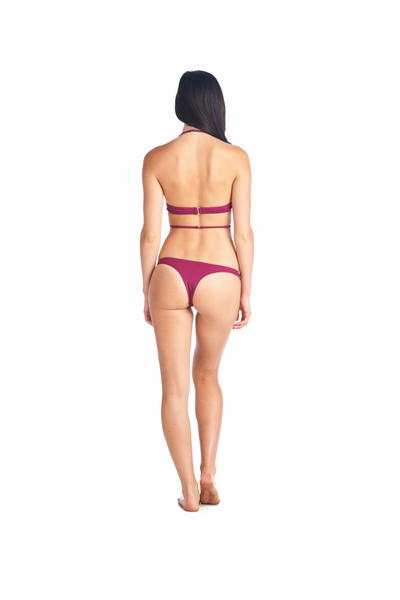 Merlot Swimsuit Rumiko Top comes in many colors, Olive, Black, White, Hot Pink and White