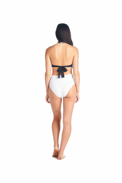 Back view of our Meguni Onepiece with cheeky bottoms