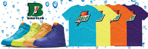 Bird Club Air Jordan 1 Retro Gatorade Flavors Collection