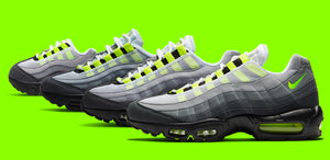 AIR MAX 95 NEON RELEASE AND SNEAKER SHIRTS