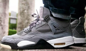 "Air Jordan Retro 4 ""Cool Grey"" (2019) Release"