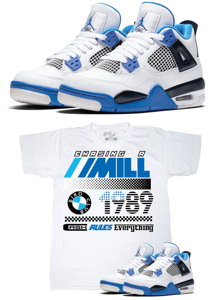 Air Jordan 4 Motorsport release information & Shirt to match