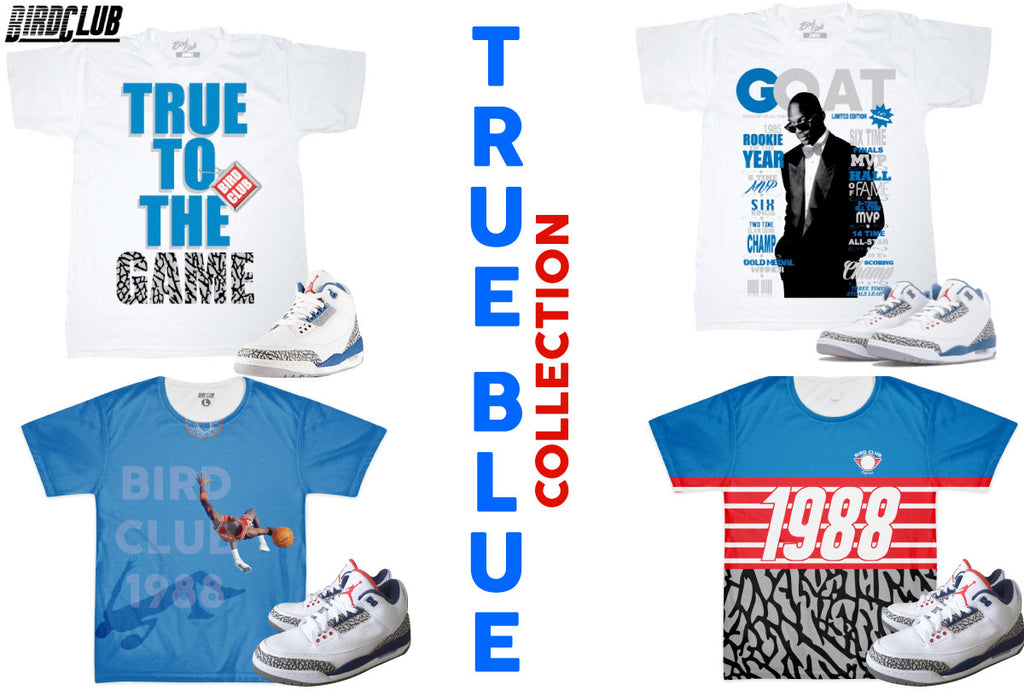 True Blue 3 Collection by BIRD CLUB CLothing