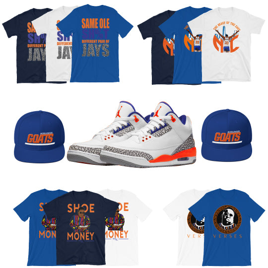 Retro 3 Knicks Collection