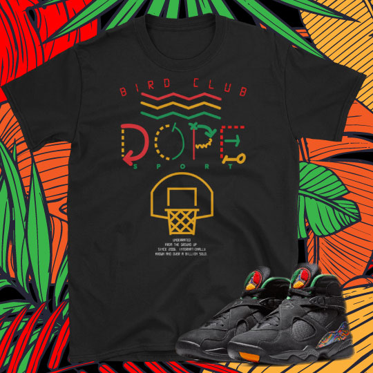 "Air Jordan 8 ""Tinker"" Sneaker Tees to match"