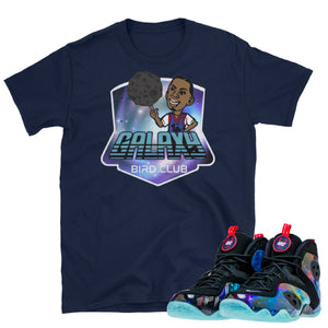 "Sneaker Tees to match Nike Zoom Rookie ""Galaxy"" sneakers"