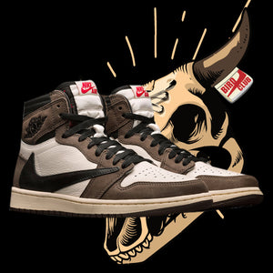 Travis Scott X Air Jordan 1 Official release date & Shirts to match