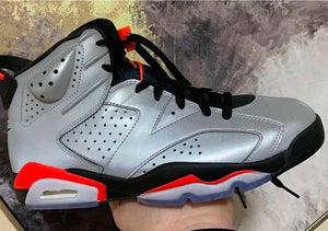 "The Air Jordan Retro 6 ""Infrared"" Gets a reflective coat"