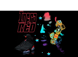 NEW Infrared 6 Sneaker Tees