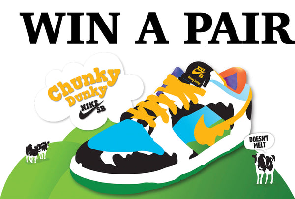 Ben & Jerry Chunky Dunky give away