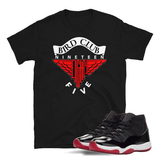 Bred 11 Sneaker tees to match