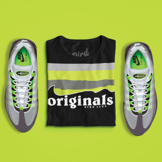Air max shirts to match OG neon