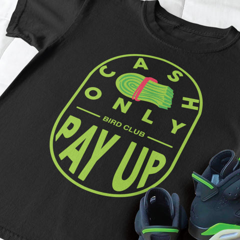 Shirts to match electric green retro 6 sneakers