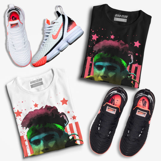 sneaker tees to match Lebron 16 Hot Lava