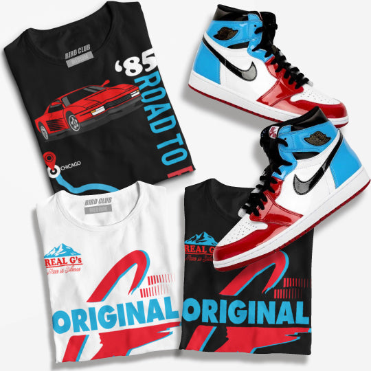 Shirts to match Air Jordan RETRO 1 SNEAKERS