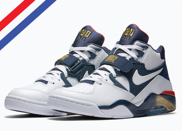 cc3e73d2efd 1992 OLYMPIC DREAM TEAM CHARLES BARKLEY AIR FORCE 180 SET TO RELEASE IN  JULY & SNEAKER MATCHING OLYMPIC TEES TO MATCH