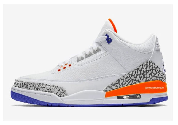 newest a0bbb 68c5d Air Jordan 3 Knicks Rivals Release info