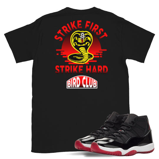 Shirts to match Bred 11 Air Jordan sneakers