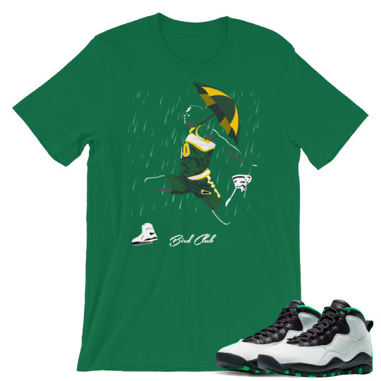 Air Jordan retro 10 Sonics shirts to match