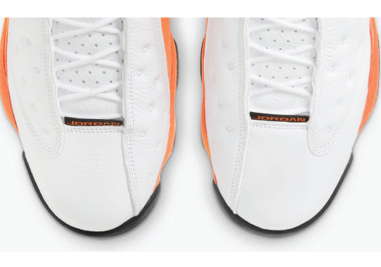Retro 13 Starfish sneakers and shirts to match