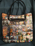 "Large Canvas Bag ""Serenado"""