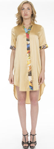 Peach Mantle Shirt - SOLD, TO ORDER NEW $800