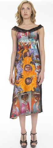 Print Sundress - SOLD, To ORDER NEW $950