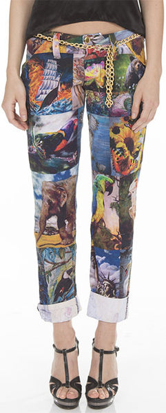All-Over Print Pants
