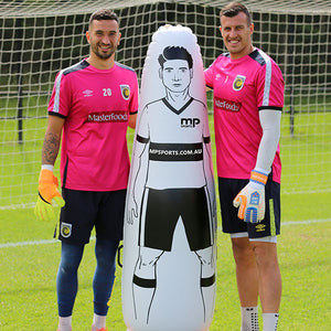 INFLATABLE FOOTBALL MANNEQUINS