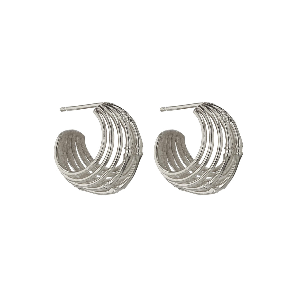 Anatomy Wire Hoops