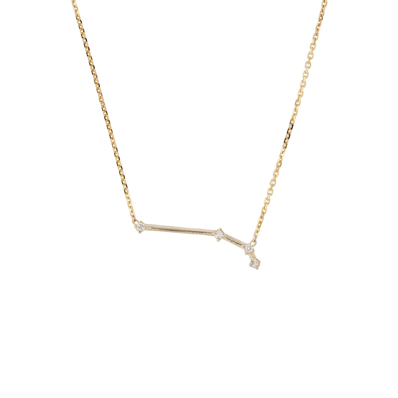 Celestial Aries Necklace Yellow Gold | Sarah & Sebastian
