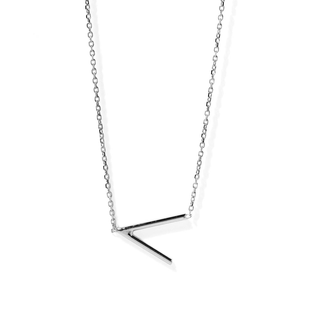 Angle Necklace (Silver)