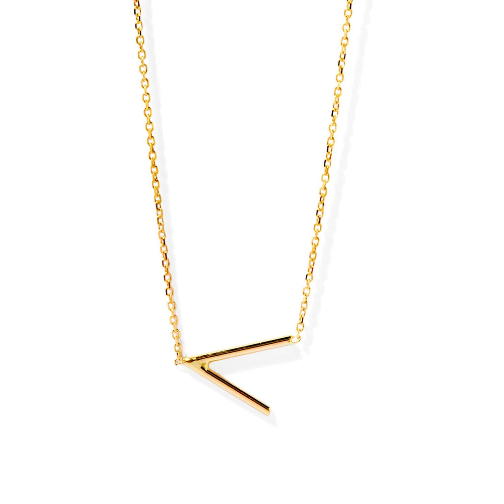 Angle Necklace (Gold)