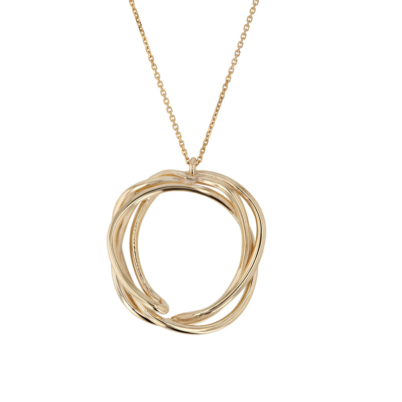 Bound Necklace Yellow Gold | Sarah & Sebastian