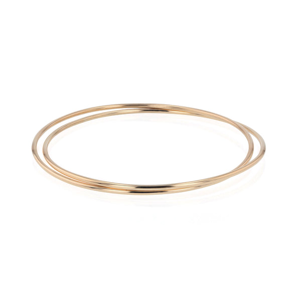 Interlinked Bangled Bangle Gold | Sarah & Sebastian