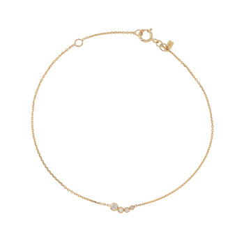 Fine Bloom Diamond Bracelet Gold | Sarah & Sebastian