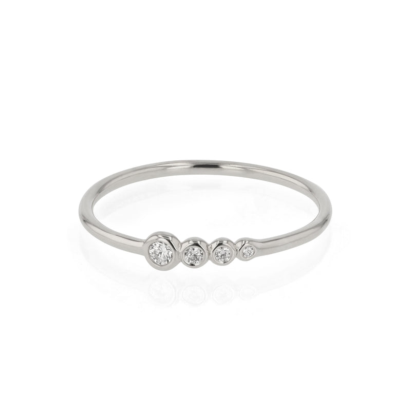 Bloom Diamond Ring White Gold | Sarah & Sebastian