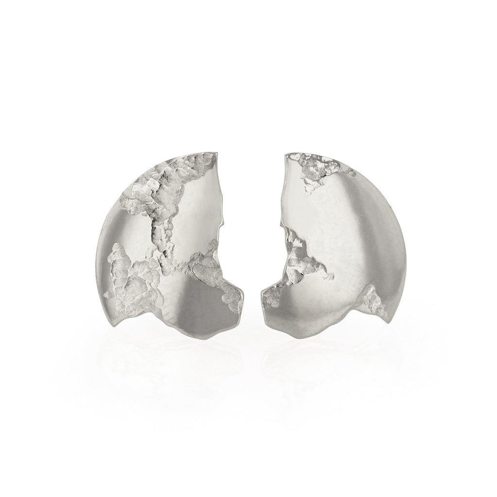Chasm Disc Earrings
