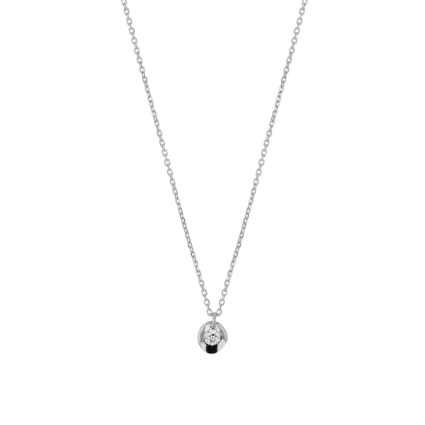 Fine Cell Diamond Necklace White Gold | Sarah & Sebastian