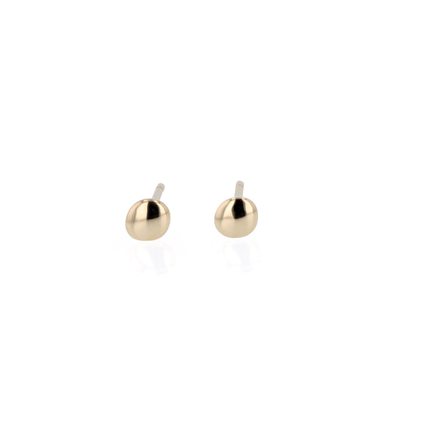 Fine Cell Stud Earrings Gold | Sarah & Sebastian