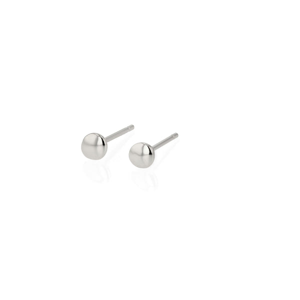 Fine Cell Stud Earrings Silver | Sarah & Sebastian