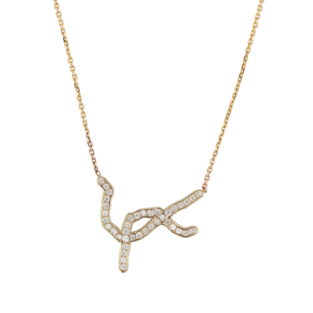 Diamond Kintsugi Necklace