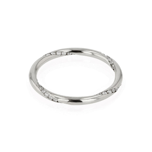 Diamond Wrap Ring White Gold | SARAH & SEBASTIAN