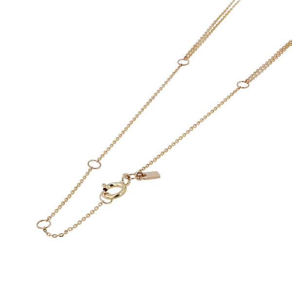 Double Fine Chain Choker Yellow Gold | SARAH & SEBASTIAN