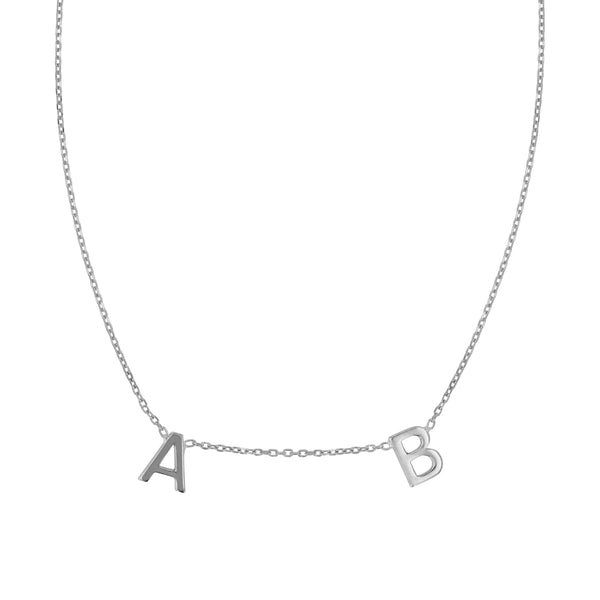 Multi Petite Letter Necklace