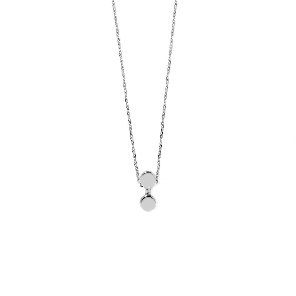 Duo Necklace (Silver)