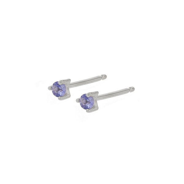 Element Stud Earrings Silver | Sarah & Sebastian