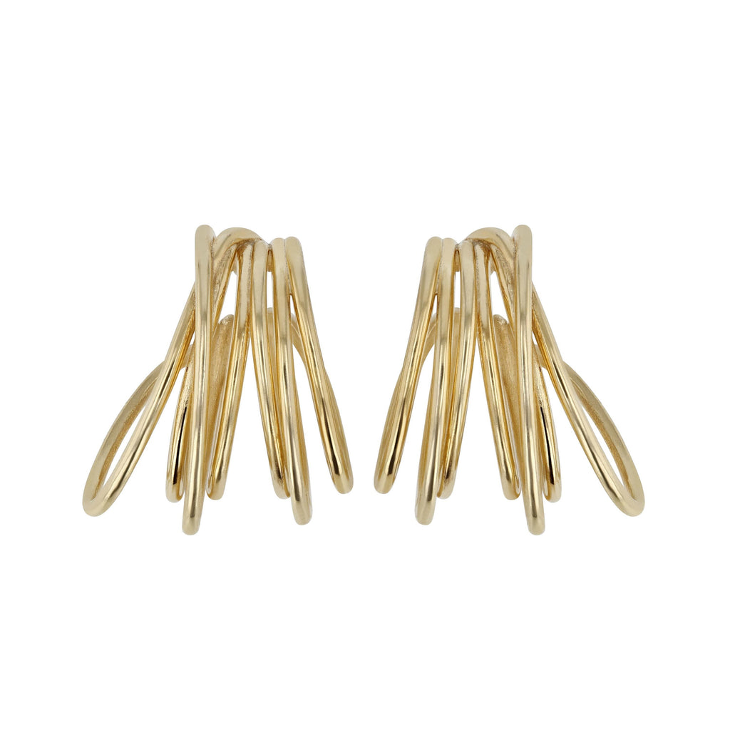 Entangled Hoops | Vermeil