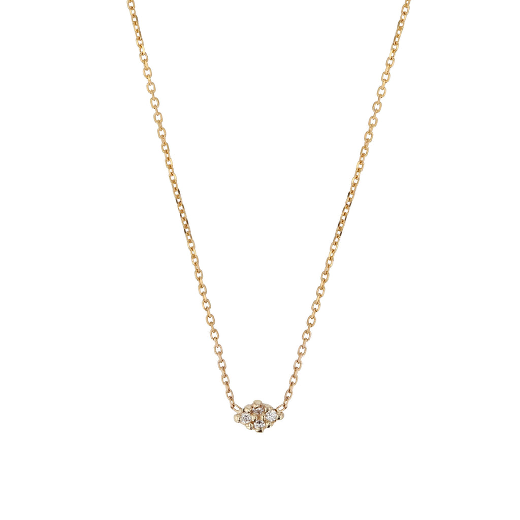 Fine Rhombus Diamond Necklace